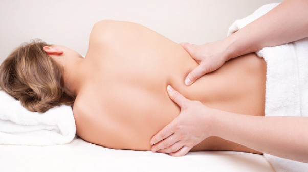 Pregnancy Massage_Side-Lying Back